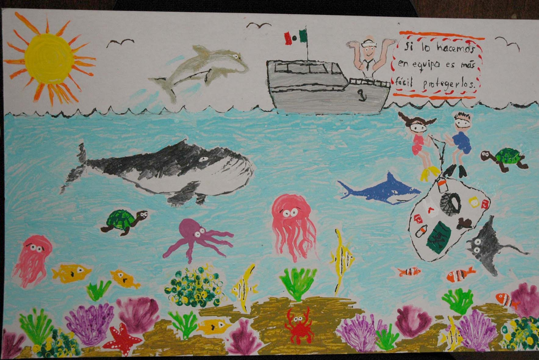 Niñas y niños de 6 a 12 años al Concurso Nacional de Pintura ...