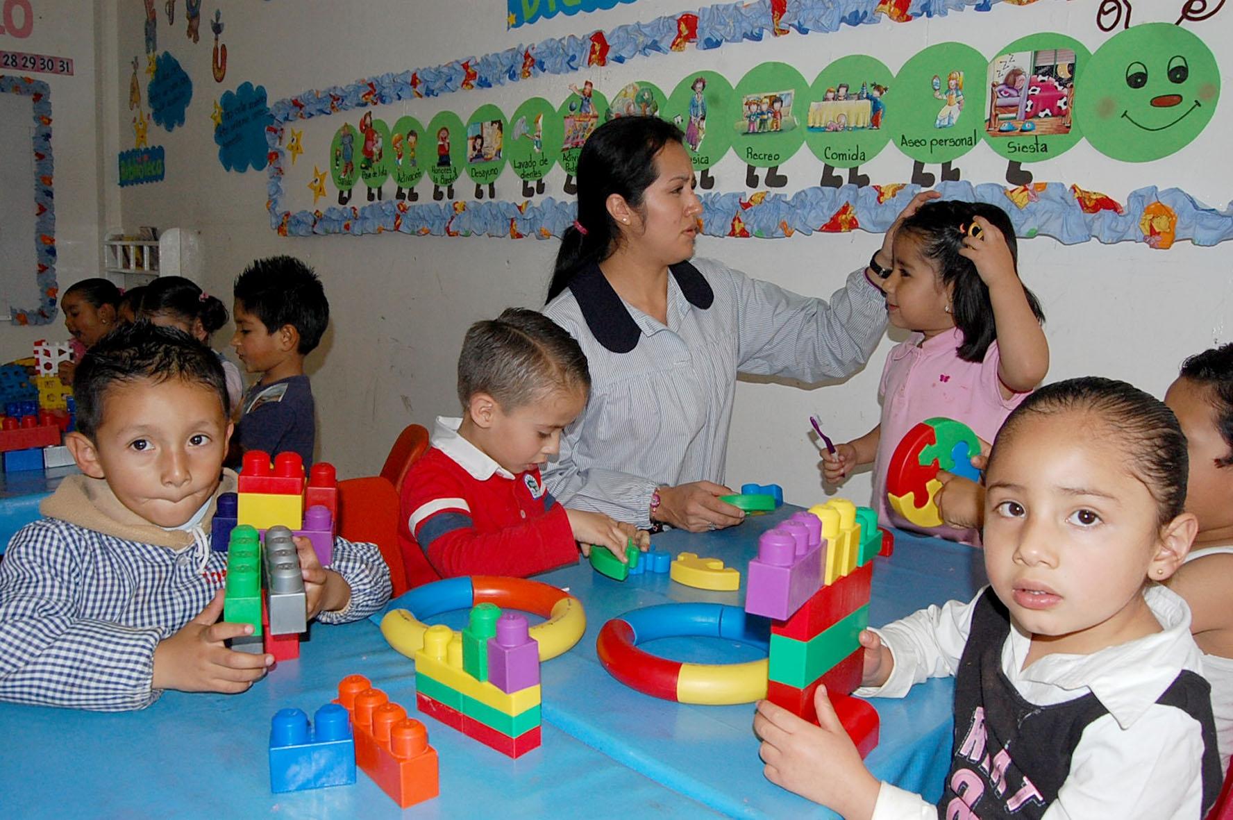 Educaci n inicial de la seph atendi a m s de 6 mil for Asistenciero para jardin de infantes