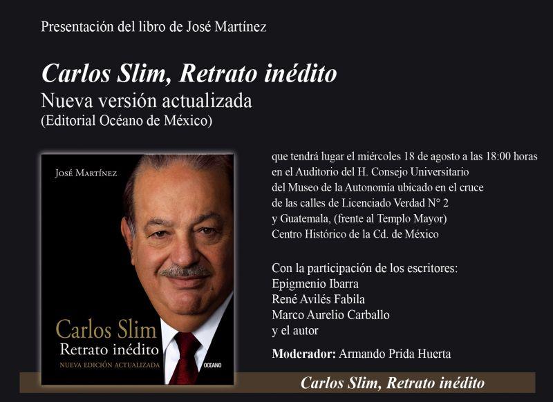 LIBRO DE CARLOS SLIM RETRATO INEDITO PDF
