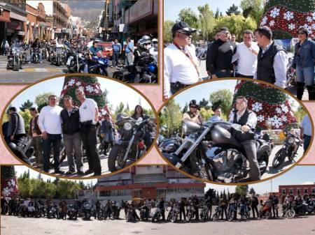 motociclistas en pachuca