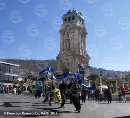 UAEH organizó el Primer Desfile del Año Nuevo Chino, El Año de la Serpiente