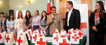 colecta cruz roja presidencia pachuca