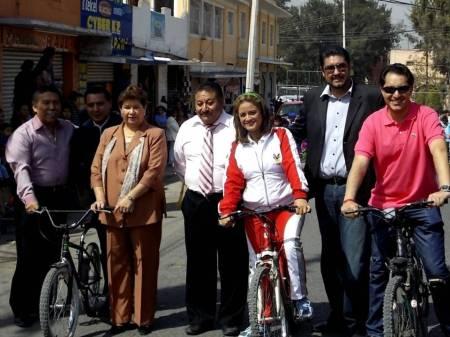 exitosa rodada ciclista en tlahuelilpan