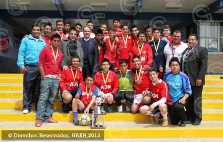 Preparatoria Número 3, campeona del Torneo Interprepas de futbol rápido