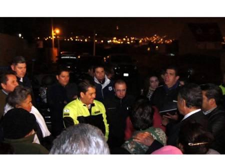 recorrido nocturno del alcalde de pachuca