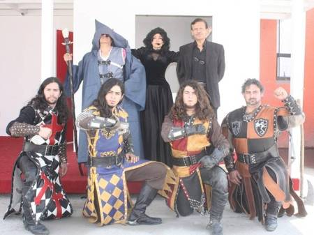 festival medieval en pachuca