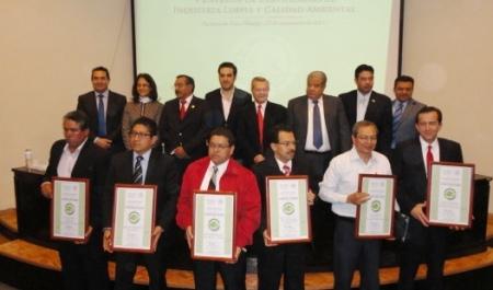 entrega de certificados calidad ambiental