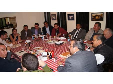 reunion de partidos politicos
