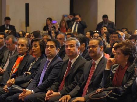Acude gobierno de Hidalgo a presentación de PRONAID