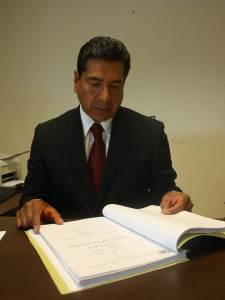 Consejero José Antonio Ruiz Lucio