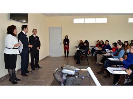 capacitacion a personal de la procuraduria para aplicar medidas de seguridad