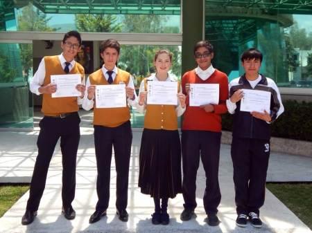 Destacan estudiantes hidalguenses en concurso nacional de química