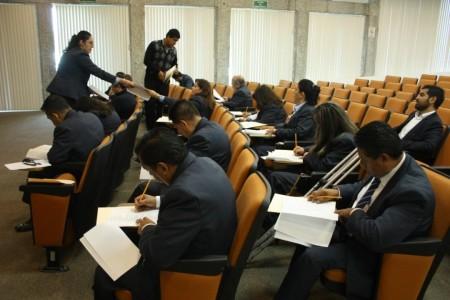 examen a aspirantes a jueces en derecho mercantil
