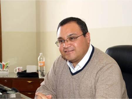Rafael Zuviri Guzmán,  titular de la Secretaría de Administración de Pachuca