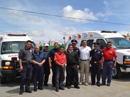 Personal de protección civil de Mineral de la Reforma en constante capacitación