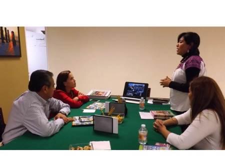 Roberto Pedraza se reúne con integrantes de Operadora Rural