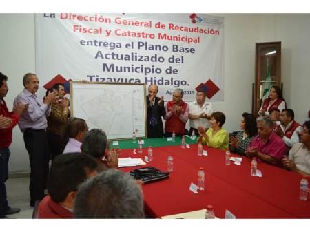 Ayuntamiento de Tizayuca concluye el plano base actualizado del municipio