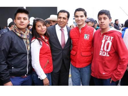 El PRI respalda a los jóvenes asegura Ricardo Crespo