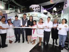 """Inauguran la primera tienda de """"Otomíes Productos Gourmet"""""""