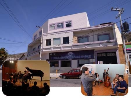 Consolidan programas educativos en Escuela de Música del Estado de Hidalgo