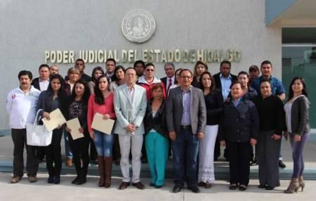 """Imparten en Tulancingo el curso  """"La Función del Periodista en el Nuevo Sistema de Justicia Penal"""""""