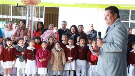 La suma de esfuerzos elevó la infraestructura educativa en Mineral de la Reforma1