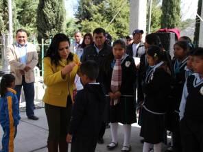 Niñas y niños del municipio de Chilcuautla reciben credenciales de Cazador@s de Saberes