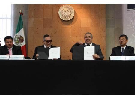 Poder Judicial firma convenio con RENACE
