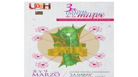Prepara UAEH  Festival Universitario de la Mujer