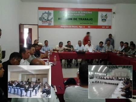 Promueve gobierno de Francisco Olvera reuniones de coordinación para resolver problemáticas de seguridad