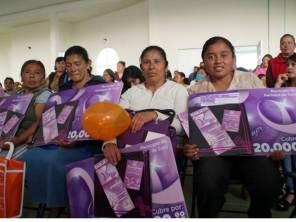 Se han entregado en Pachuca más de 9 mil tarjetas del programa Vive Mujer2