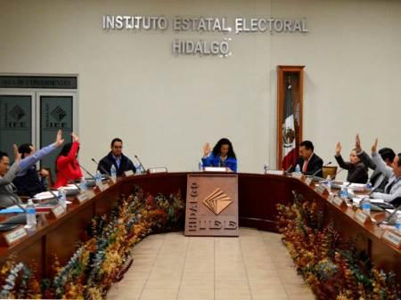 IEEH cumple las resoluciones emitidas por el Tribunal Estatal Electoral