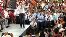 Inicia Omar Fayad campaña 2