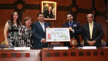 Mineral de la Reforma en billete 1