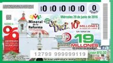 Mineral de la Reforma en billete 2