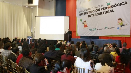 Inicia Encuentro Estatal de Intervención Pedagógica Intercultural1.jpg