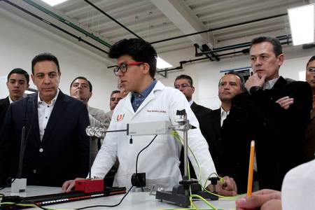 Abrirá Preparatoria 1 laboratorios con tecnología de primer mundo