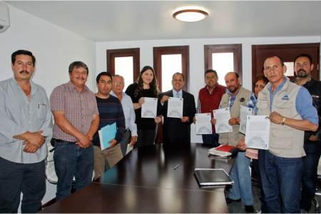 Acuerda secretario general, retiro de plantón de tianguistas en Mineral de la Reforma