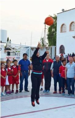 Autoridades municipales inauguraron Torneo de Basquetbol