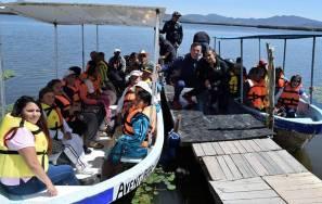 Beneficiarios del Dif Hidalgo visitan la Laguna de Tecocomulco3
