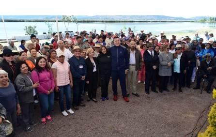 Beneficiarios del Dif Hidalgo visitan la Laguna de Tecocomulco4