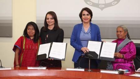 CDI y el Gobierno de la Ciudad de México firman Acuerdo para crear el Centro Cultural y Artesanal Indígena1.jpg