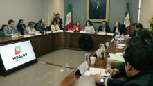 Comisiones legislativas tratan temas con secretarías estatales2
