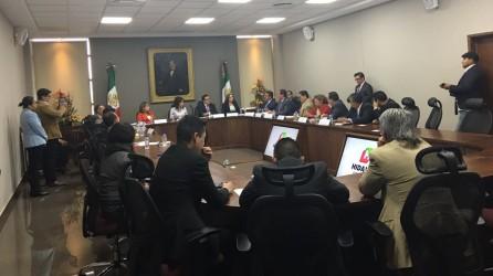 Comisiones legislativas tratan temas con secretarías estatales3