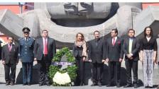 Conmemoran el 211º aniversario del natalicio de Benito Pablo Juárez García1