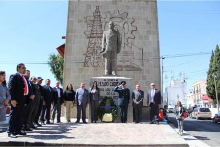 Conmemoran el 79 Aniversario de la Expropiación Petrolero