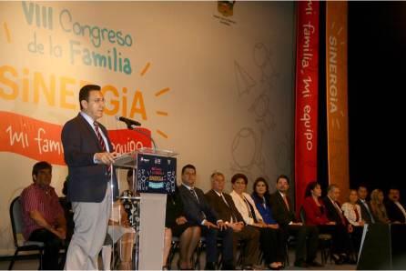 """Da inicio el VIII Congreso de la Familia """"Sinergia"""" mi familia, mi equipo4"""