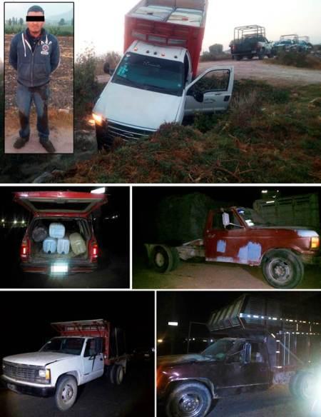 detienen-a-un-sujeto-y-aseguran-vehiculos-posiblemente-relacionados-con-sustraccion-ilegal-de-hidrocarburo