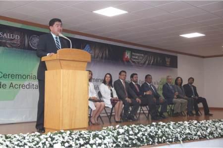 Entrega sector salud, dictámenes de acreditación para tres procesos quirúrgicos a Hospital del Niño DIF