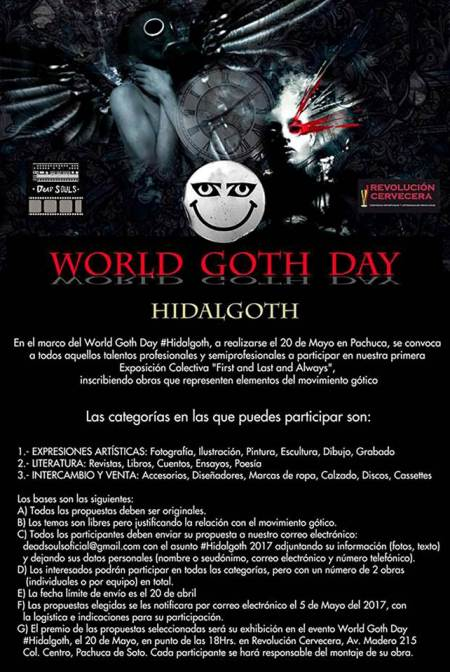 Hidalgo, sede del World Goth Day
